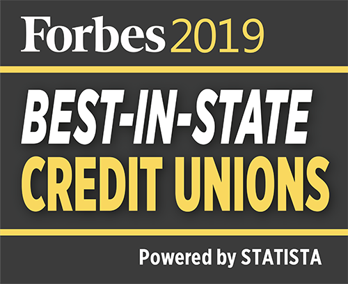 Forbes 2019 | Best-in-State Credit Unions (Powered by Statista)